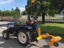enkel plog för traktorer såsom iseki kubota dp 18