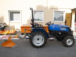 enkel plog med hjul för traktorer som yanmar iseki dp 20