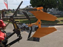 växelplog för traktorer med manuell växel spak drp 35