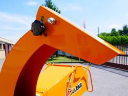 pto driven flishugg för traktor dk 1200