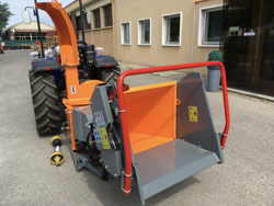 professionell hydraulisk disk opererande flistugg til traktor mod dk 1800