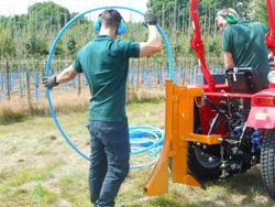 1 tands harv för traktorer som kubota mod dr 30