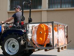 pallgaffel för traktorer som kubota d 300