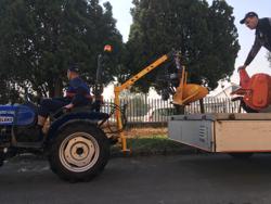 hydraulkran för kompakttraktorer el 200