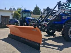 mellantung snöplog med euro fäste traktor ln 200 e