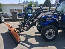 mellantung snöplog med euro fäste traktor ln 250 e