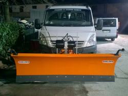 frontalt snö blad för transit vans ln 200 j