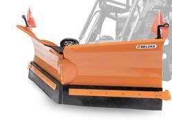 snöplog för traktorer med frontlastare lnv 250 e
