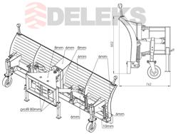 snöplog för hjullastare ssh 04 2 2 w