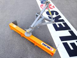 vägskrapa 130cm för bakmontering på traktor mod dl 130