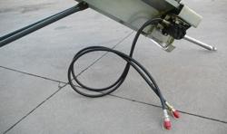 hydrauliskt timmertransport band för traktor mod ntl