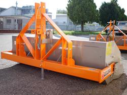 manuell skopa med tipp til traktorer prm 200 h