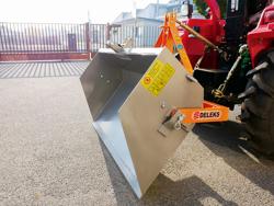 lätt hydraulisk transport skopa för traktor pri 120 l