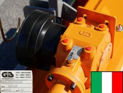 slagklippare 160cm för traktor med justerbar sidoförskjutning och hammarslagor 40 70 hk puma 160