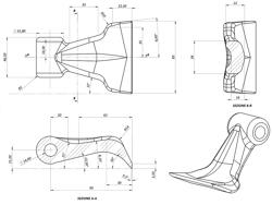 slagklippare beteputsare för traktor med reversibel montering som carraro bcs medium serie 160cm arbetsbredd mod puma 160 rev