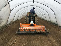 justerbar stennedläggare för traktorer dfu 140