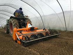 justerbar stennedläggare för traktorer dfu 160