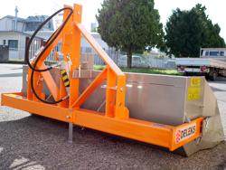 hydraulisk transportskopa med tipp traktorer pri 200 h