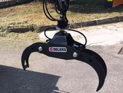 timmergrip med rotator for mini grävmaskiner och skogskranar dk10 gr10