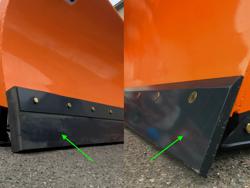 medium tungt snöblad lastare upp till 3 ton ln 250 m
