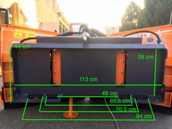 snöplog för hjullastare 3 ton lnv 200 m