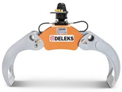 timmergrip med fast pendulerande rotator för grävmaskiner skogskranar dk 16 gr 30f