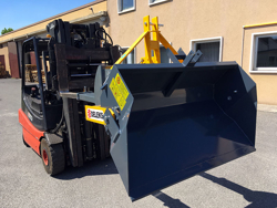 hydraulisk tung skopa för gaffeltruck pri 160 hm