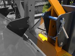 hydraulisk tung skopa för gaffeltruck pri 180 hm