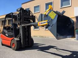 hydraulisk tung skopa för gaffeltruck pri 200 hm