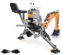 grävaggregat til traktor dk 950