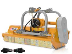 slagklippare betesputsare med justerbar sidoförskjutning slaghack för traktorer med 70 100hk rino 200