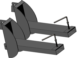 gaffeltruck fäste 120l