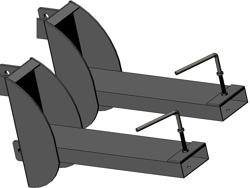 gaffeltruck fäste 140l