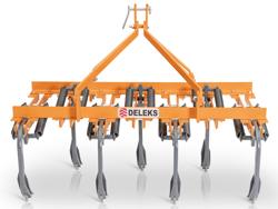 7 pinnars kultivator bredd 169cm för beredning av mark och avlägsnande av ogräs mod de 165 7