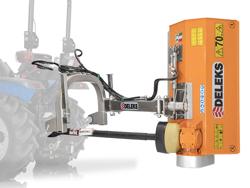 flerbruks kantklipper lätt kantklipper för traktorer volpe 165