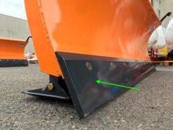 frontalt snöblad med 3 punkts fäste till traktor ln 250 c