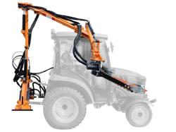 hydraulisk gren och häck klipper til traktor falco 160 h