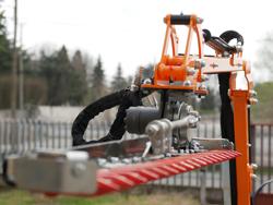 armklippare med skyttelkran til traktor airone 180 tr