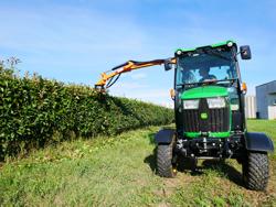 hydraulisk gren och häck klipper til traktor falco 180