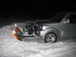 snöblad för jeep pick up terrängfordon lns 170 j