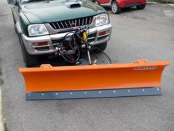 snöblad för jeep pick up terrängfordon lns 190 j