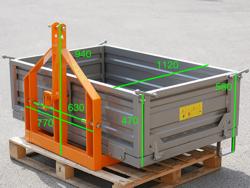 t 1600 transportlåda för traktor 30 70 hk