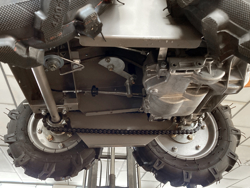fyrhjulig motordriven skottkarra yamaha md 400