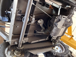 fyrhjulig motordriven skottkarra ducar md 400