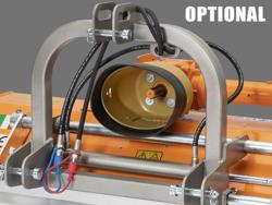 slagklippare betesputsare med justerbar sidoförskjutning flerbruks med hammarslagor lince sp165