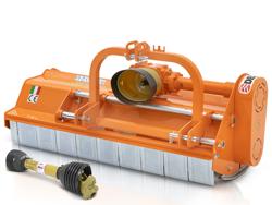 slagklippare 160cm för traktor med justerbar sidoförskjutning och hammarslagor 40 70 hk leopard 160 sp