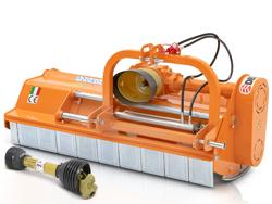 slagklippare 140cm för traktor med justerbar sidoförskjutning och hammarslagor 30 70 hk leopard 140 sph