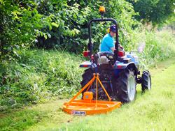 rotorklippare för traktorer buggy 100