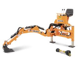 grävaggregat til traktor drs 1000t