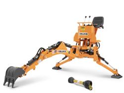 grävaggregat til traktor drs 1000